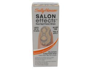 SALLY HANSEN SALON EFFECTS REAL NAIL POLISH STRIPS #450 BRATTLESNAKE
