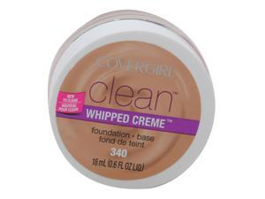 COVERGIRL CLEAN WHIPPED CRÈME FOUNDATION #340 NATURAL BEIGE