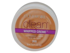 COVERGIRL CLEAN WHIPPED CRÈME FOUNDATION #355 SOFT HONEY