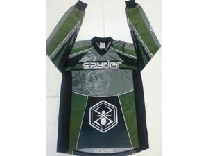 Kingman Spyder Competition Paintball Jersey - Green - 2XLarge