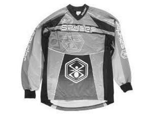 Kingman Spyder Competition Paintball Jersey - Black - 2XLarge