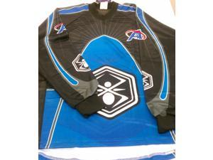 Kingman Spyder Academy Paintball Jersey - Blue - Medium