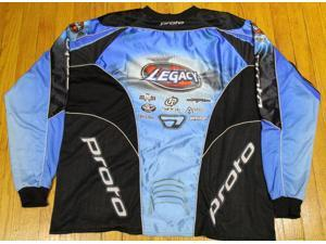 Proto Team Legacy Paintball Jersey - Blue - Large