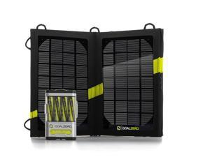 GOAL ZERO 41022 Guide 10 Plus Solar Rechaging Kit for Charging USB Handheld Devices
