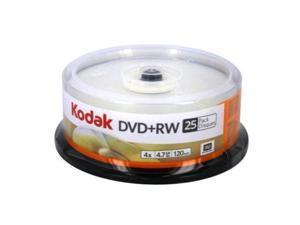 Kodak 50129 Dvd Plus Rw Rewriteable 4.7Gb 25 Pack Spindle