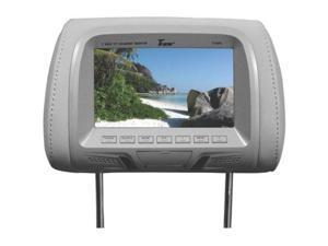"New Tview T726pl-Gr 7"" Gray Pair Lcd Car Headrest Tv Monitor W/ Ir T726plgr"