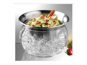 Prodyne Steel Iced Dip Cup N Acrylic Chill Bowl Keeps Dip - IC6