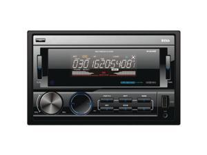 Boss Audio 812Uab Double-Din In-Dash Mechless Receiver With Bluetooth(R)