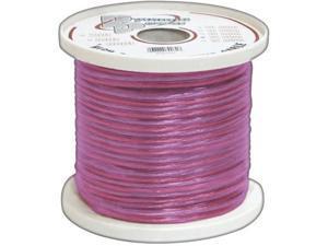 Pyle Rsw18500 18 Ga 500' Spool Car Audio Translucent Purple Speaker Wire