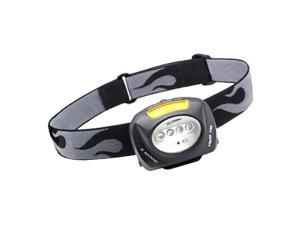 Princeton Tec Quad Industrial QUAD-IND Headlamp - LED - AAA - Black
