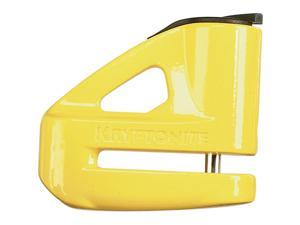 Kryptonite Keeper 5 Yellow Disc Lock (ea) For All Street Sports Bikes