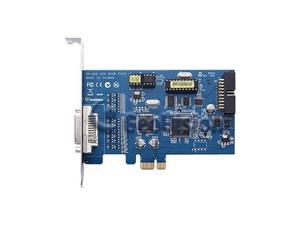 GeoVision GV-600B-4 4 Channel DVR Video Capture Card DVI PCI-E4 /1 Audio 8.55/30fps