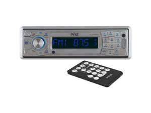 Pyle PLCD5MRBTS AM/FM Marine In-Dash Fold Down Detachable Face Radio w/CD/MP3/USB/SD/AUX Input with Bluetooth Wireless Technology