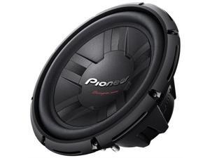 Pioneer TS-W311S4 12 1400-Watt Champion Series Subwoofer (Single voice coil)