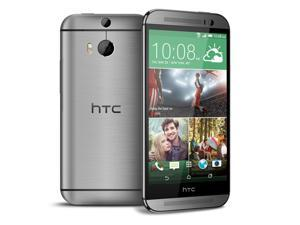 HTC One M8 Grey 4G LTE Quad-Core 32GB Unlocked GSM Android Cell Phone U.S. Version