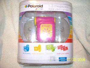 Polaroid Pixie 1.3 MP SD Digital Video Camera - Pink (CSA-00302S)