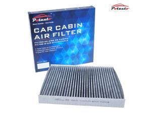 POTAUTO MAP 1027C Heavy Active Carbon Car Cabin Air Filter Replacement compatible with DODGE, DODGE Durango, JEEP, Grand Cherokee