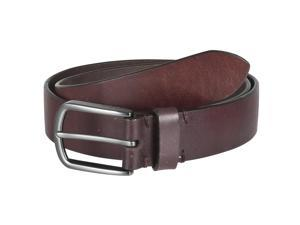Marc New York Mens Classic Genuine Leather Belt, Brown, Brown, Size 38