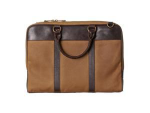 Fossil Estate Canvas Document Bag, Brown