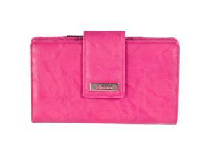 Kenneth Cole Reaction Womens Clutch With Mirror, Ruby