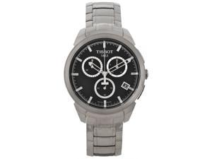 Tissot Mens Titanium Silver-tone Chronograph Watch T0694174405100