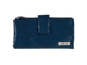 Kenneth Cole Reaction Womens Bi-fold Clutch Wallet, Navy