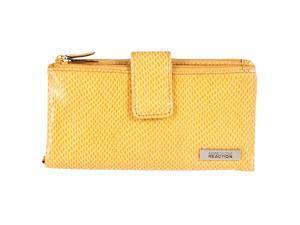 Kenneth Cole Reaction Womens Bi-fold Clutch Wallet, Yellow