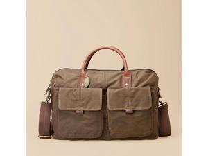 Fossil Wagner Waxed Canvas Duffle MBG1169, Olive