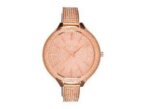 Michael Kors Women's Slim Runway Stainless Steel Glitz Watch