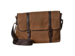 Fossil Estate Canvas Messenger Bag, Brown