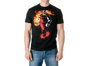 JINX Men's A Plumber's Fire Graphic T-Shirt, Black, Size Large