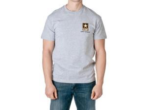 U.S. Army Men's Officially Licensed Army Strong Short Sleeve T-Shirt, Heather Gray, Size Large