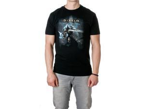 JINX Men's Diablo III Slice Premium Cotton T-Shirt, Black, Size Small