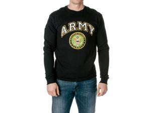 U.S. Army Men's Officially Licensed Long Sleeve T-Shirt, Black, Size Medium