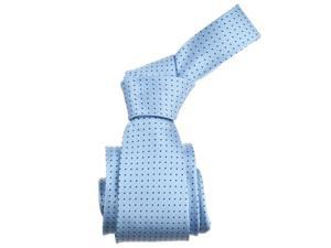 Republic Mens Dotted Micro-Fiber Tie, Light Blue