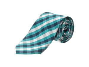 Republic Men's Checkered Woven Microfiber Tie