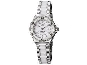 TAG Heuer Womens Formula 1  Stainless Steel & Ceramic Diamond Accented Watch