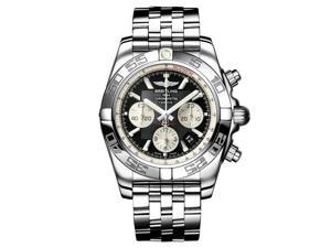 Breitling Chronomat B01 Mens Black & White Automatic Chronograph Watch