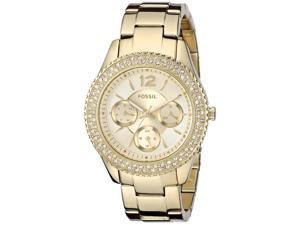 Fossil Women's Stella Multifunction Stainless Steel Gold-Tone Watch