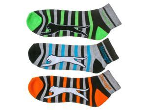 Slazenger Men's 6-Pack Classic Quarter Socks, multicoloured, Size 10-13