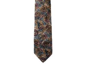 Riverberry Mens Patterned 100% Silk Neck Tie