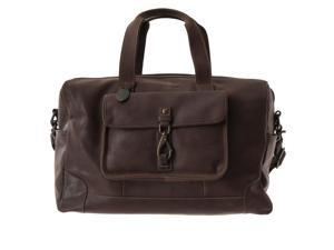 Fossil Mens Range Leather Travel Duffle