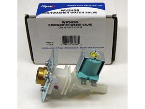 WV5458 Dishwasher Inlet Solenoid Valve for Bosch 425458 PS1266278 AP3783031