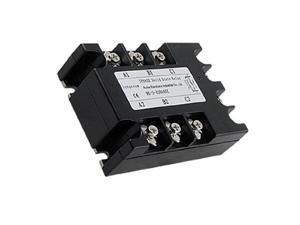 AC to AC Three 3 Phase Solid State Relay SSR 40A 90-280VAC 380V AC