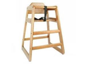 Kids High Chair-Walnut-Wood(1)