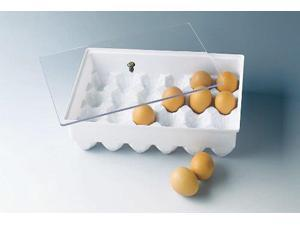 Paderno World Cuisine 11 7/8 Inch X 8 1/2 Inch Egg Container