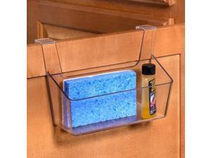"Over the Cabinet Organizer Basket (Clear) (5.5""H x 8""W x 3.25""D)"