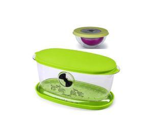Progressive International Fruit and Vegetable Keeper and Onion Keeper Set