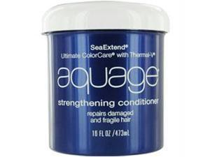 SeaExtend Ultimate ColorCare with Thermal-V Strengthening Conditioner by Aquage for Unisex - 16 oz Conditioner
