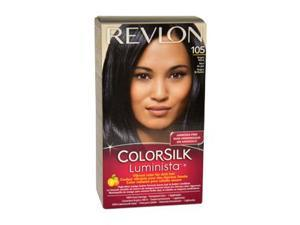 Revlon W-HC-1064 Colorsilk Luminista No.105 Bright Black - 1 Application - Hair Color